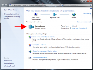 Delete / Rename Network Connections In Windows 7