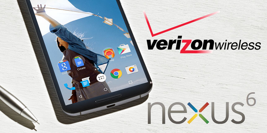 How to get a Google Nexus 6 on Verizon Wireless